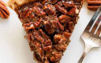 Healthy Pecan Pie Recipe (without the corn syrup, butter, and cream!)