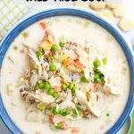 Healthy creamy chicken and wild rice soup - Family Food on the Table