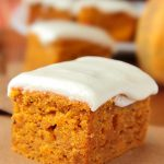 Pumpkin Bars with Cream Cheese Frosting | My Baking Addiction