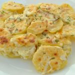 Food special: Crème fraîche potato dauphinoise with thyme   Daily Mail  Online