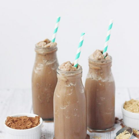 Peanut Butter Banana Smoothie | Gimme Some Oven