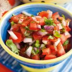 Easy Homemade Salsa (7 ingredients, 5 minutes) - A Pinch of Healthy
