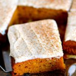 Easy Pumpkin Bars with Cream Cheese Frosting Recipe - Maria's Kitchen