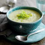 Easy leek and potato soup - The Slimming Foodie - Easy healthy recipes