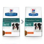 Hill's Prescription Diet W/D Canine™ - Recommended to maintain weight loss  and for diabetic dogs / Direct-Vet