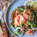 A simple Low-Carb Smoked Salmon Lentil Salad is high in protein and healthy  fats. Dairy-… | Smoked salmon salad recipes, Salmon salad recipes, Smoked  salmon recipes