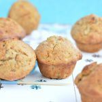 Healthy Banana Muffins (made w/ 9 ingredients!) - Fit Foodie Finds