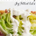 Keto Blue Cheese Dressing - Low Carb, 5 Ingredients, Quick & EASY