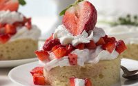 Healthy Strawberry Shortcake - Confessions of a Fit Foodie